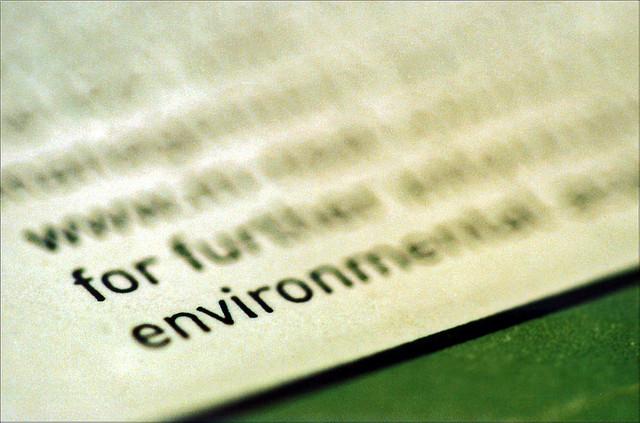 For environment CCBY Smif via Flikr