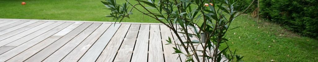 Terrasse en Ipé Clips face lisse (140 mm)
