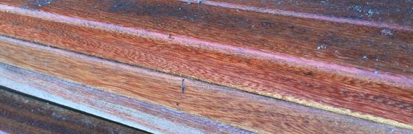 Un exemple d'essence de bois exotique adaptée pour la construction de terrasse