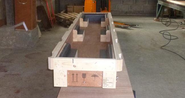Exemple de calages réalisés à l'occasion d'un prestation technique